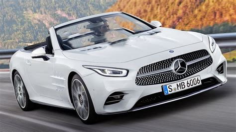 Car New  2019 Mercedes Sl Render Has Us Yearning For More