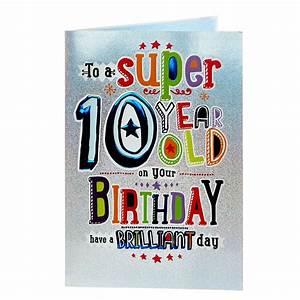 Buy, 10th, Birthday, Card