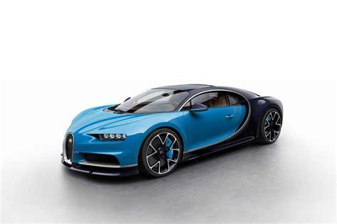 Bugatti Chiron Mini Configurator Shows New Colors