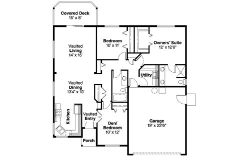 homes floor plans ranch house plans 30 547 associated designs