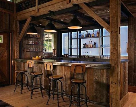 Rustic Bar Ideas top 70 best rustic bar ideas vintage home interior designs