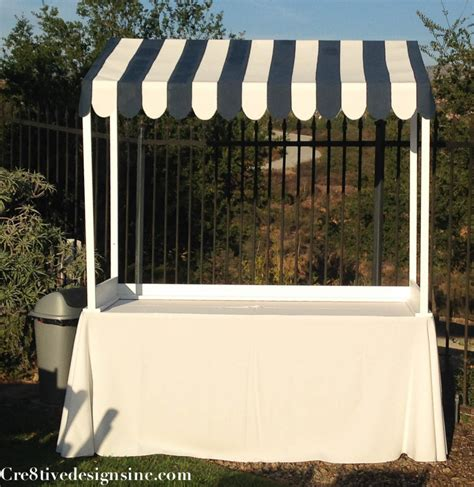 table top canopy tent s 39 mores bar root beer float station and more cre8tive