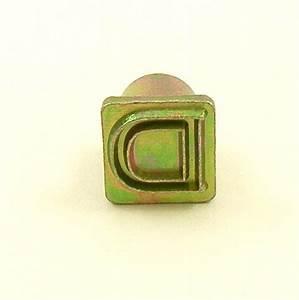12mm modern letter d embossing stamp artisanleathercouk With single letter embosser