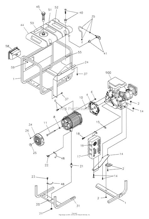 briggs and stratton power products 1796 0 580 325600 5 600 watt craftsman parts diagram for