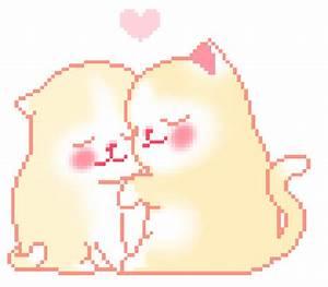 gif cute kawaii cute gif pixel kawaii pixel cute cat neko ...
