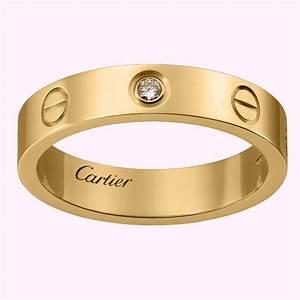 Cartier Bague Or Bijoux La Mode