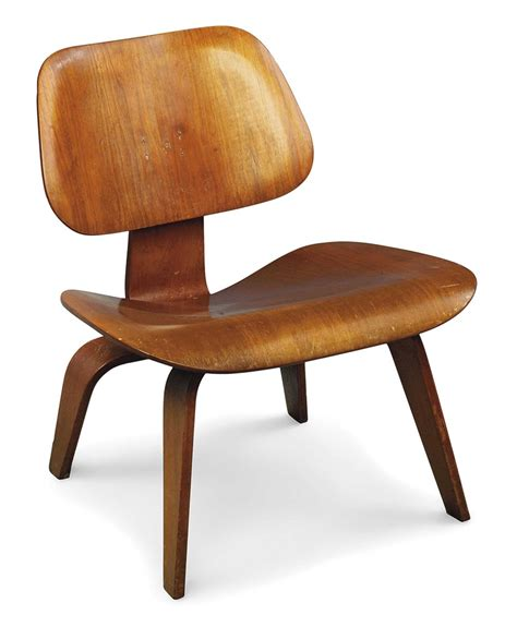 a charles eames lcw lounge chair designed 1945