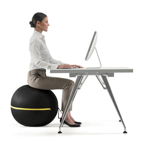chaise de bureau ballon technogym chair makes sitting a healthy activity