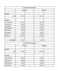 Income Statement Spreadsheet Excel Income Statement 7 Free Excel Documents Free Premium Templates