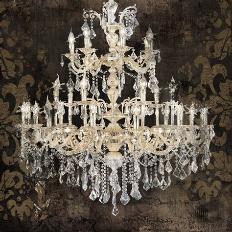 Chandelier Artist by 15 Collection Of Chandelier Canvas Wall