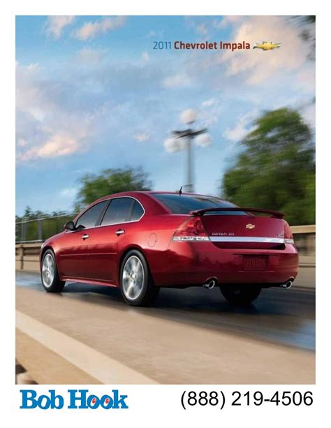 Bob Hook Chevrolet 2011 Impala Brochure
