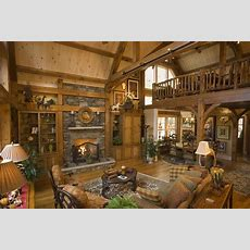 Log Home Interiors