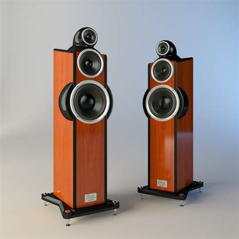 Floor Ls by 3dsmax Floor Standing Loudspeaker
