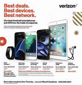 Black Friday 2016: Verizon Wireless Black Friday Ad Scan