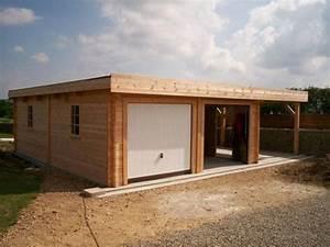 Garage En Bois Toit Plat : les 25 meilleures id es concernant garage toit plat sur ~ Dailycaller-alerts.com Idées de Décoration