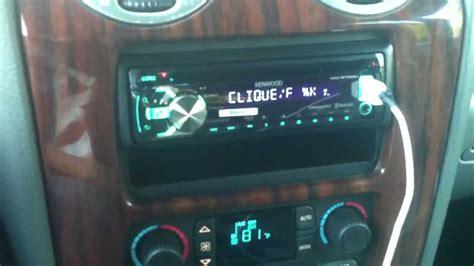 kenwood radio  gmc envoy xl slt  bose speakers  amp