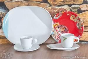 Kahla Porzellan Alt : ein sch n gedeckter tisch mit kahla porzellan unterwegs und ~ Frokenaadalensverden.com Haus und Dekorationen