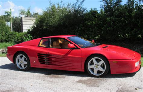 This 1993 ferrari 512tr with only a few ticks over 8,000 miles, this extremely rare 512 tr is in wonderful condition. 1992 Ferrari 512TR For Sale in Sarasota, Florida | Old Car ...