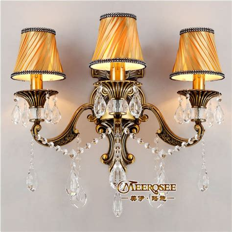 popular fabric shade wall sconce from china best selling
