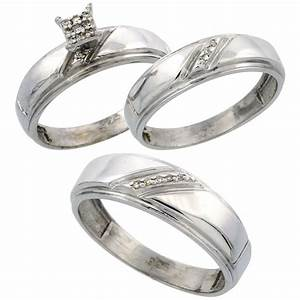 wedding rings sets for him and her wedding promise With wedding rings for him