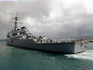 US Navy Destroyer Wallpaper - WallpaperSafari