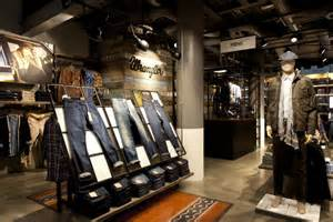 design leipzig wrangler store by checkland kindleysides leipzig retail design