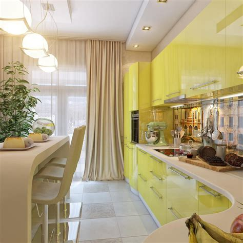 yellow and white kitchen ideas yellow white kitchen dining space interior design ideas