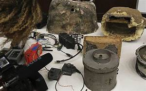 Saudi-led coalition displays Yemeni arms allegedly from ...