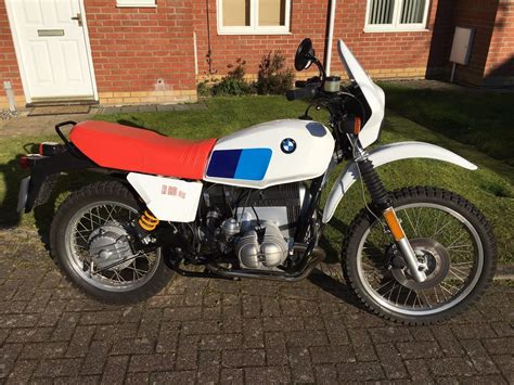 Bmw R80gs For Sale by Restored Bmw R80gs 1985 Photographs At Classic Bikes