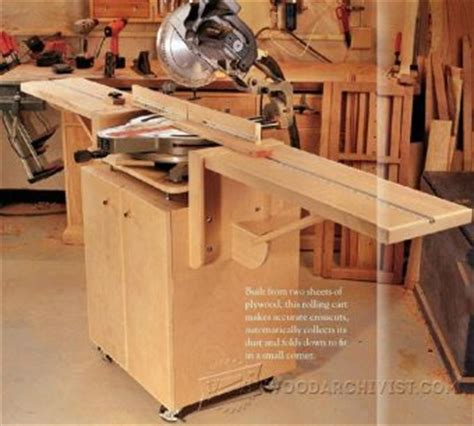 ultimate miter  stand plans woodarchivist