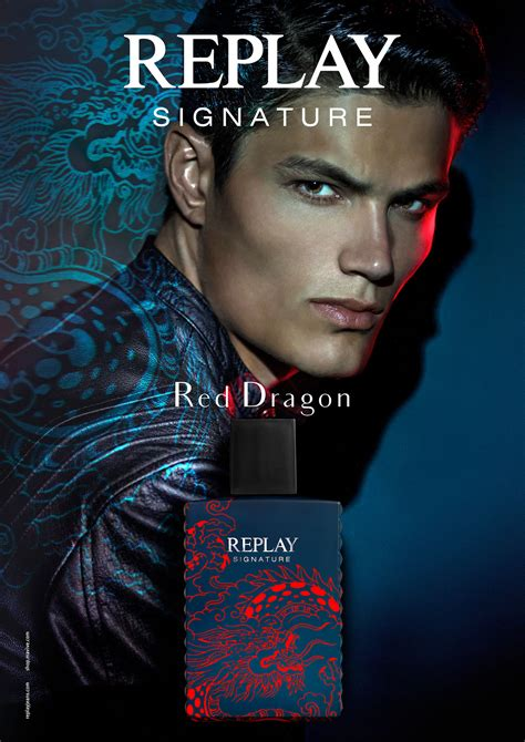 Replay Signature Red Dragon Replay cologne - a fragrance ...