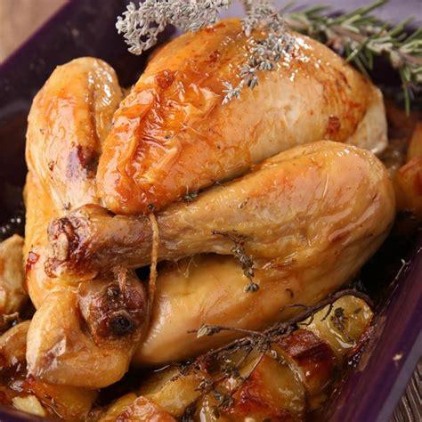 de cuisine qui cuit les aliments recette poulet rôti aux pommes de terre au four