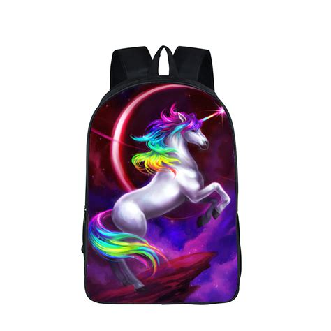 crossbody bags for travel galaxy universe unicorn cheshire cat backpack