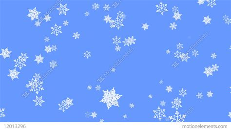 Animated Snowflake Wallpaper - snowflake particles on light blue background flying snow