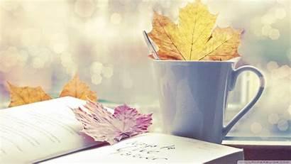 Wallpapers Coffee Books Winter Desktop Cup Tea
