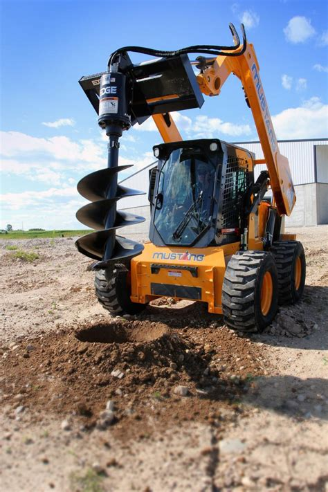 mustang introduces  skid steer ceg