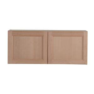Unfinished Kitchen Cabinet Doors Home Depot by Hton Bay Assembled 36x12 5x15 In Easthaven Wall