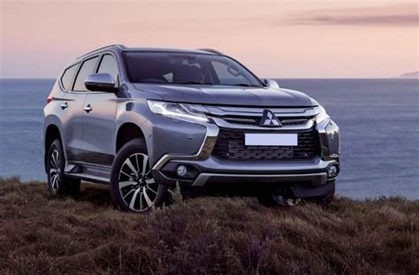 Mitsubishi New Pajero 2020 by Redesigned 2020 Mitsubishi Pajero To Be Built On A New