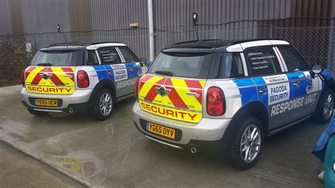 Security Vehicle Livery - Bluelite Graphics