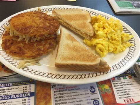 All-Star Breakfast Waffle House