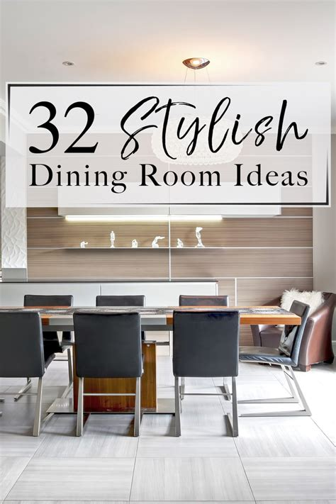 Dining Room Decor Ideas by 32 Stylish Dining Room Decor Ideas To Impress Your Guests