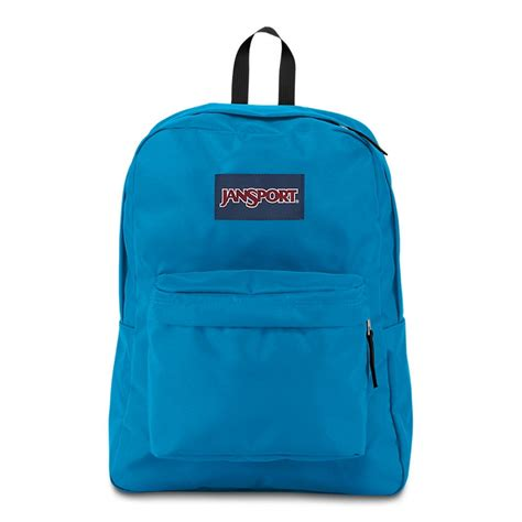 jansport superbreak backpack blue crest ideal baby