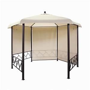 Toile de toit pour tonnelle hexagonale autres marques for Voir ma maison en 3d 5 toile de toit pour tonnelle hexagonale autres marques
