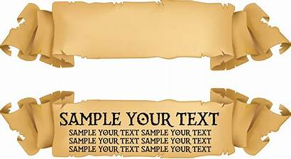 Banner Paper Ribbon Title Transparent Pngkit Automatically