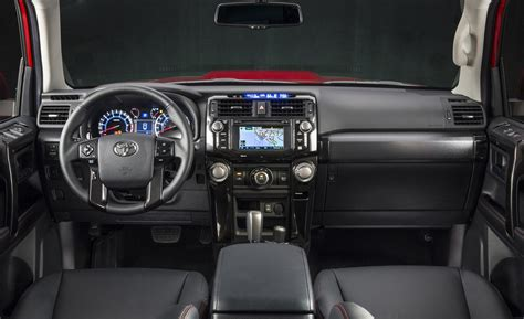 toyota 4runner interior car and driver