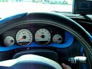2005 Dodge neon cold start new black paint and Evo 5 body