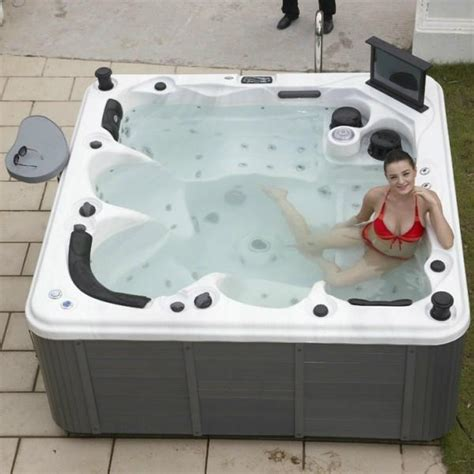 balboa tub outdoor spa sr862 with us balboa system for 5 person