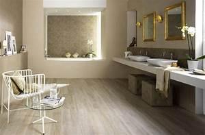 parquet flottant conseils et idees pour sol de salle de bain With parquet bois salle de bain