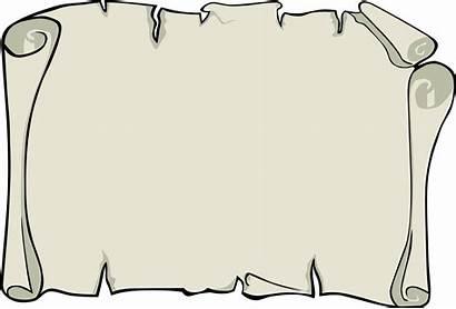 Border Parchment Background Clipart Paper Scroll Clip