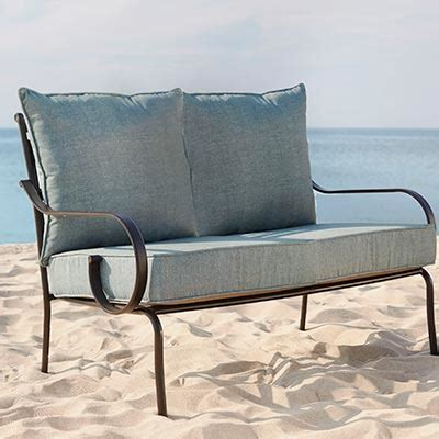 loveseat cushions for outdoor furniture outdoor cushions outdoor furniture the home depot